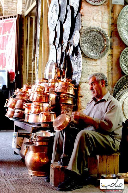 بازار مسگرها؛ میدان امام اصفهان