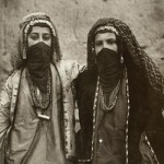 Portrait of Two Women in Elaborate Costume