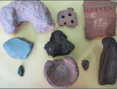 کشف محوطه باستانی