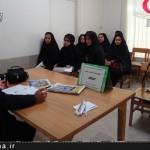 نشست رابطين اجرايي اعتکاف خواهر در نطنز