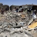 Saudi Arabia leads strikes on Houthi rebels in Yemen