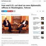 Iran and U.S. cut deal on new diplomatic offices in Washington, Tehran - The Washington Post (1)