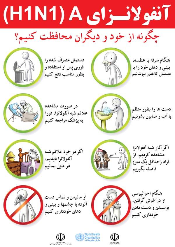 Influenza_AH1N1-Farsi_Poster