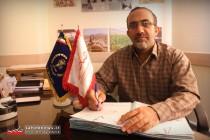 حسین انوری مسئول سازمان بسیج سازندگی استان اصفهان
