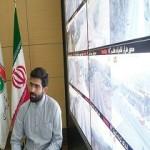 یاسر خالدی مسئول عملیات سالن مرکز مدیریت راههای کشور