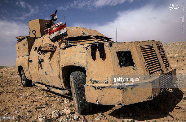 نبردهای تدمر به روایت ارتش سوریه+فیلم و عکس