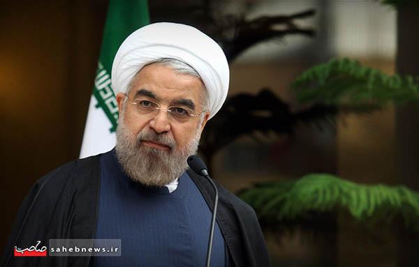 حسن روحانی رییس جمهور جمهوری اسلامی ایران
