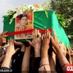 شهید مدافع حرم سید محمد شاه حسینی