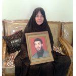 مادر شهید افیونی زاده