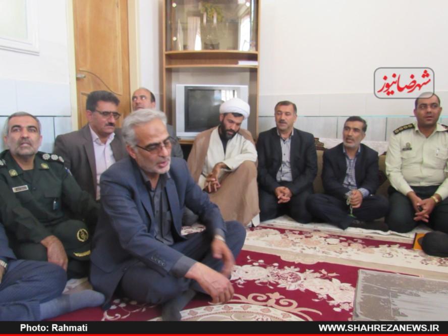 دیدار نماینده و مسئو لین با ایت الله نجفی و شهدا نیروی انتظامی (144)