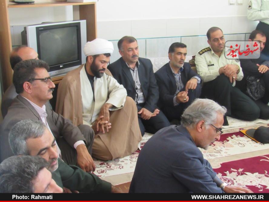 دیدار نماینده و مسئو لین با ایت الله نجفی و شهدا نیروی انتظامی (154)