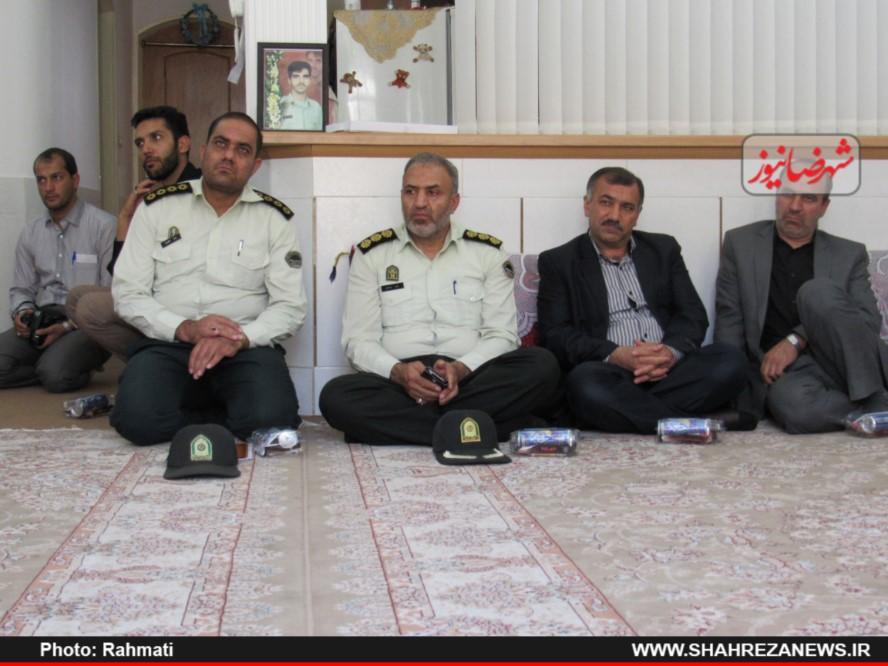 دیدار نماینده و مسئو لین با ایت الله نجفی و شهدا نیروی انتظامی (285)