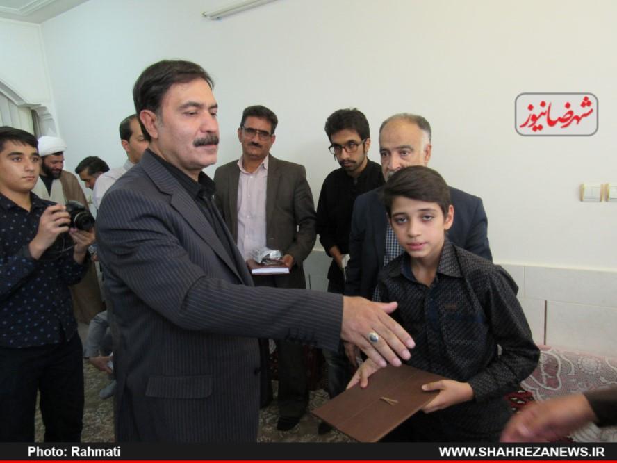 دیدار نماینده و مسئو لین با ایت الله نجفی و شهدا نیروی انتظامی (290)