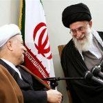 امام خامنه ای رهبر انقلاب و هاشمی رفسنجانی