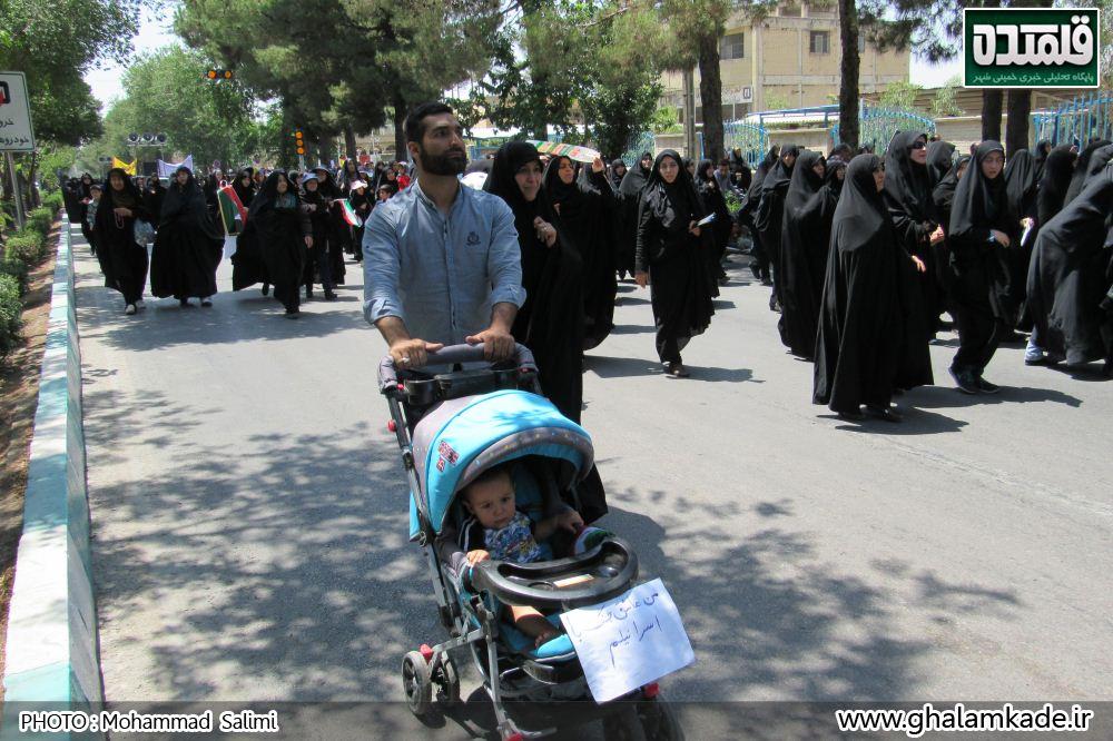 خمینی شهر راهپیمایی روز قدس   (11)