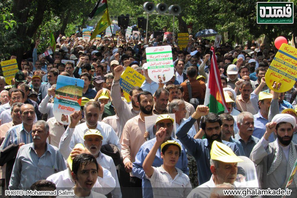 خمینی شهر راهپیمایی روز قدس   (15)
