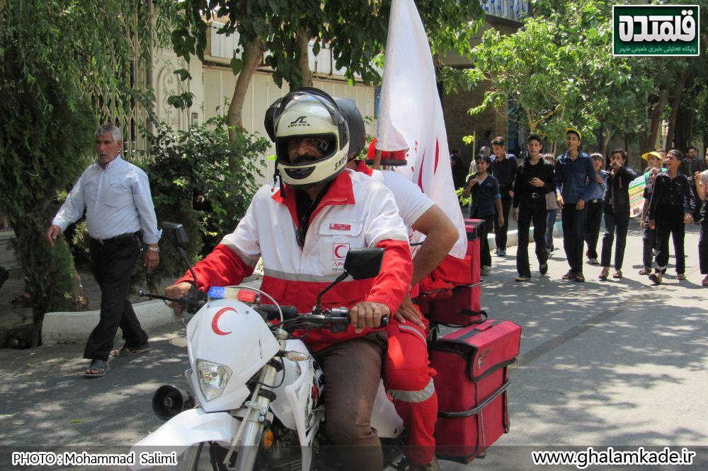 خمینی شهر راهپیمایی روز قدس   (23)