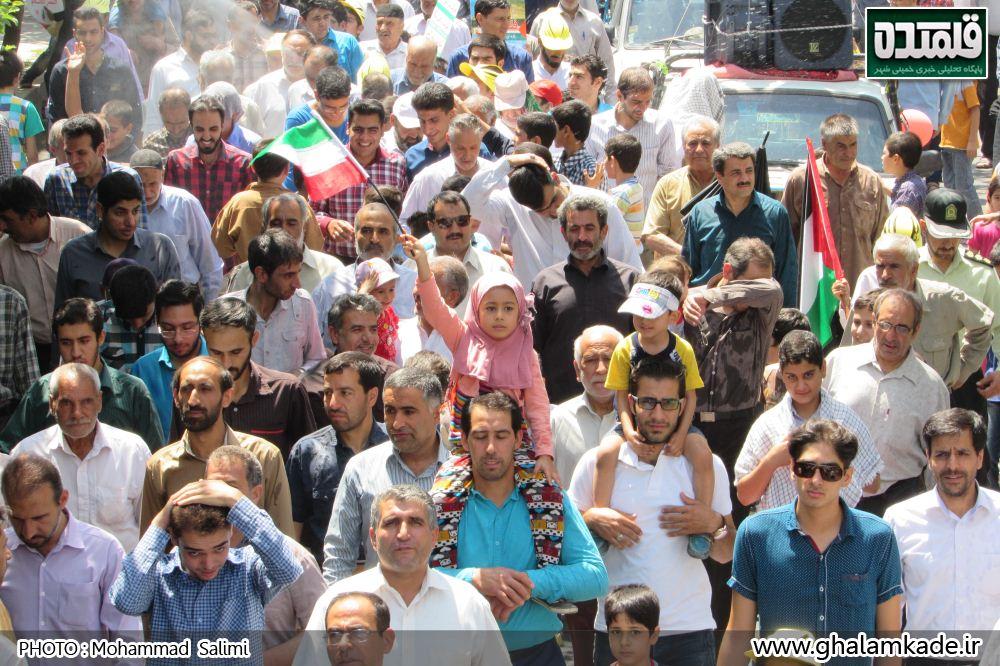 خمینی شهر راهپیمایی روز قدس   (27)