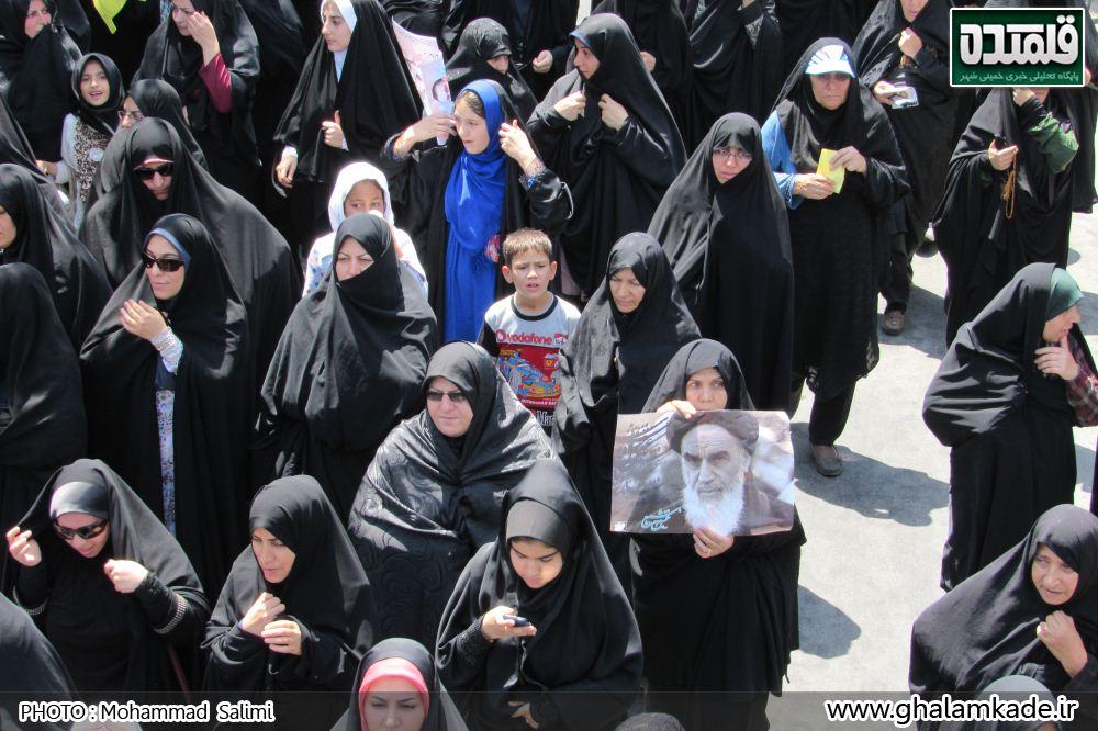 خمینی شهر راهپیمایی روز قدس   (32)