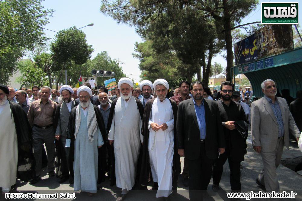 خمینی شهر راهپیمایی روز قدس   (4)