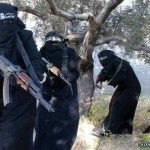 زن-داعشی
