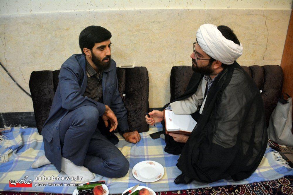 گپ داغ با سیدرضا نریمانی مداح مشهور برخواری / صوت - چشم برخوار