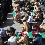 ورود پیکر شهدا به خاک ایران