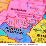 stock-photo-south-sudan-country-in-africa-on-the-world-map-404666146