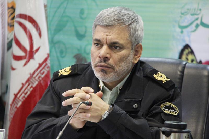 سردار محمد شرفی رییس پلیس پیشگیری ناجا