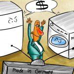 کاریکاتور مصرف گرایی