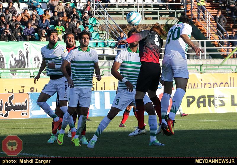 اولین برد ذوب آهن در نیم فصل دوم لیگ برتر فوتبال/ تصاویر