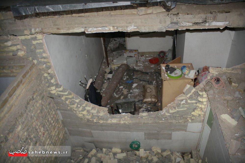 حادثه منزل مسکونی در اصفهان