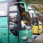اتوبوس های برون شهری
