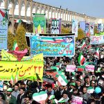 راهپیمایی 22 بهمن اصفهان
