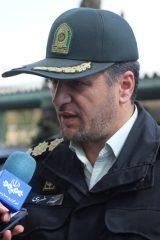سرهنگ ستار خسروی رئیس پلیس آگاهی استان اصفهان