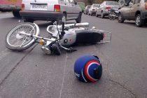 تصادف موتور سیکلت