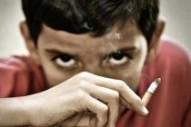 مصرف دخانیات در سنین پایین