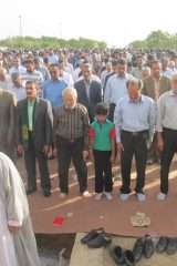 نماز عید فطر در بادرود