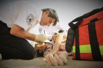 کمک اورژانس در حادثه غرق شدگی