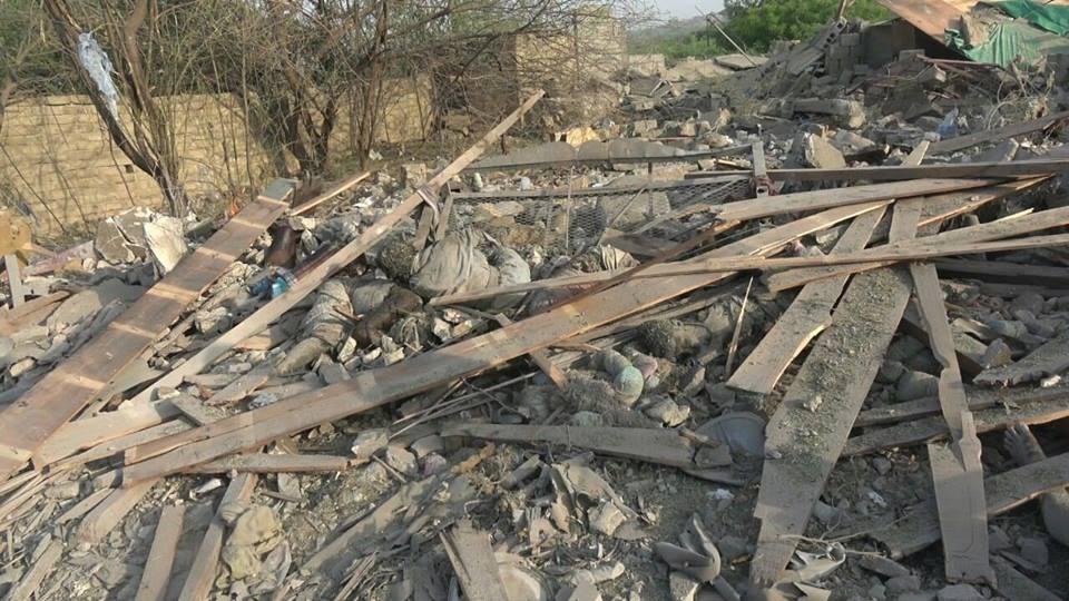شهید و زخمی شدن دهها روزهدار یمنی در حمله جدید جنگندههای رژیم سعودی/تصاویر
