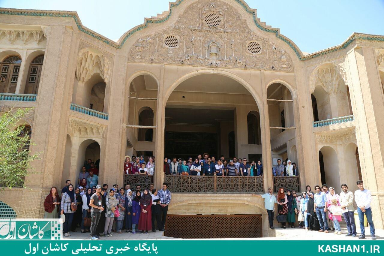 حضور ۱۴۰ نفر فارسی آموز از ۴۴ کشور جهان در کاشان/ تصاویر