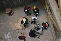 سقوط کارگر ساختمانی
