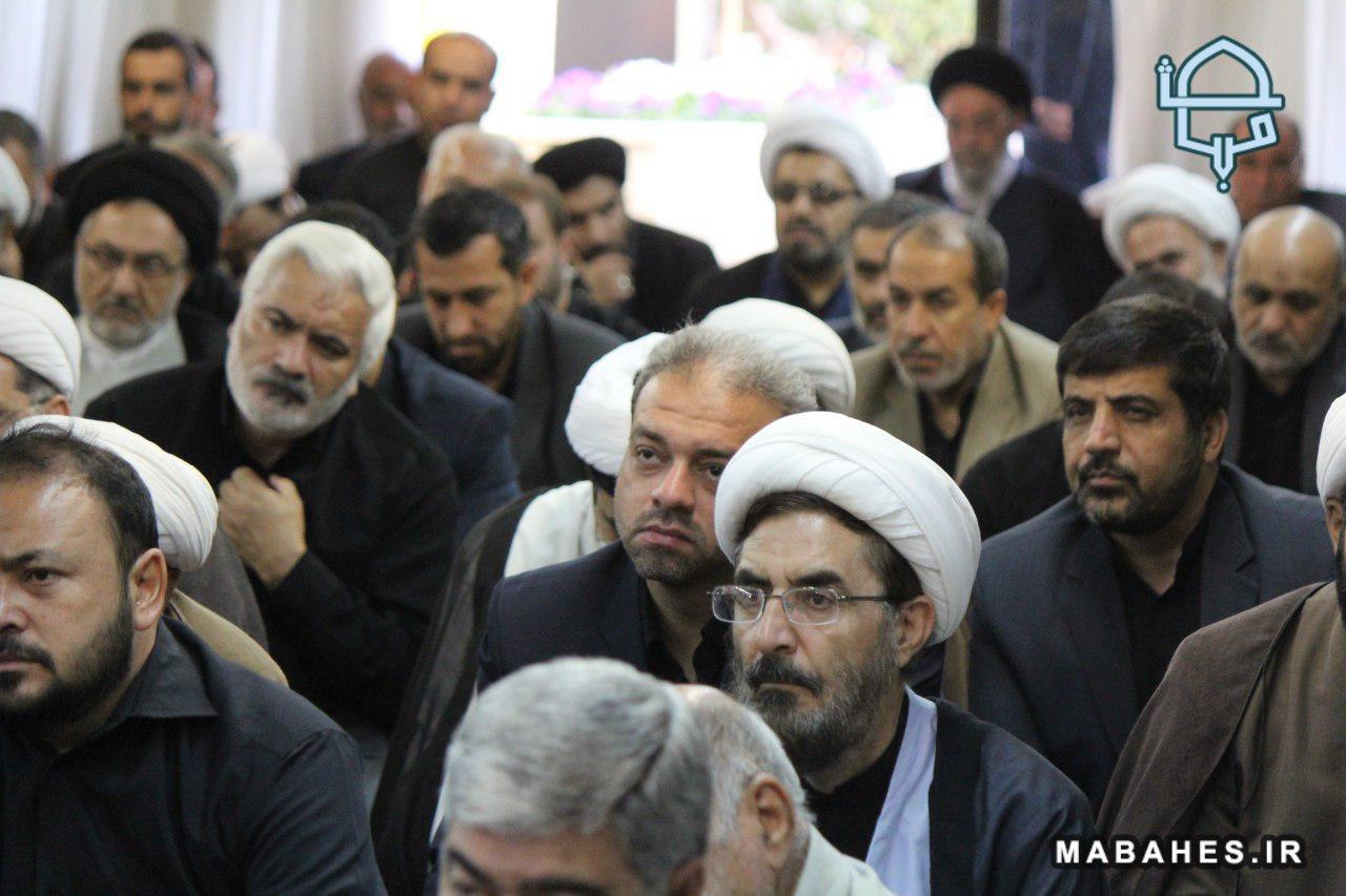 مجلس عزای دفتر امام جمعه
