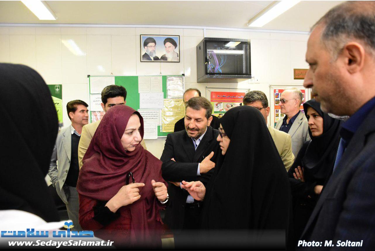 سفر وزیر بهداشت پاکستان به اصفهان (9)