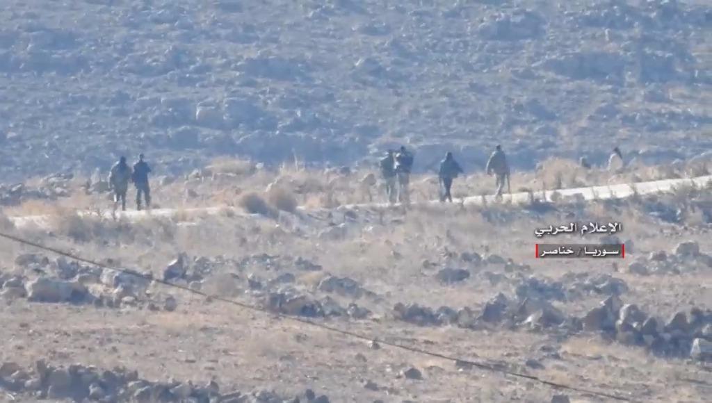 گروه تلگرام کاشانی ها آتش سنگین مقاومت سوریه بر سر تروریست های جبهه النُصره+ تصاویر