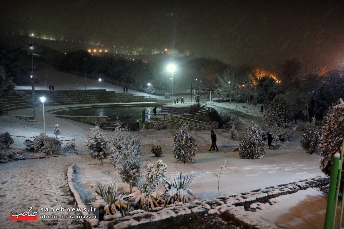 برف در اصفهان