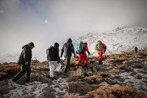 تیم امداد کوهستان هلال احمر