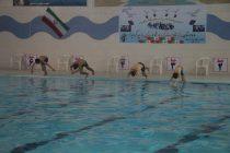 مسابقات شنا در اردستان
