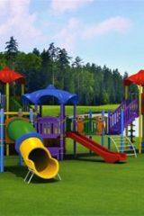 وسایل بازی کودکان در پارک های اردستان نصب می شود