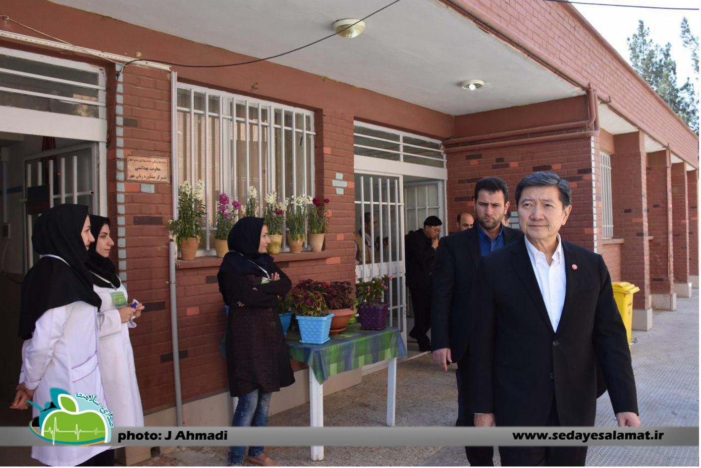 سفر وزیر بهداشت تایلند به اصفهان (11)